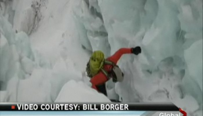 Bill Borger Mt. Everest Summit and Calgary News Media