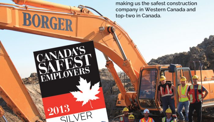 The Safest Companies to Work for in Canada 2013