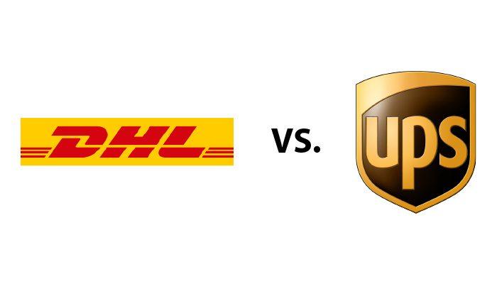 DHL Versus UPS