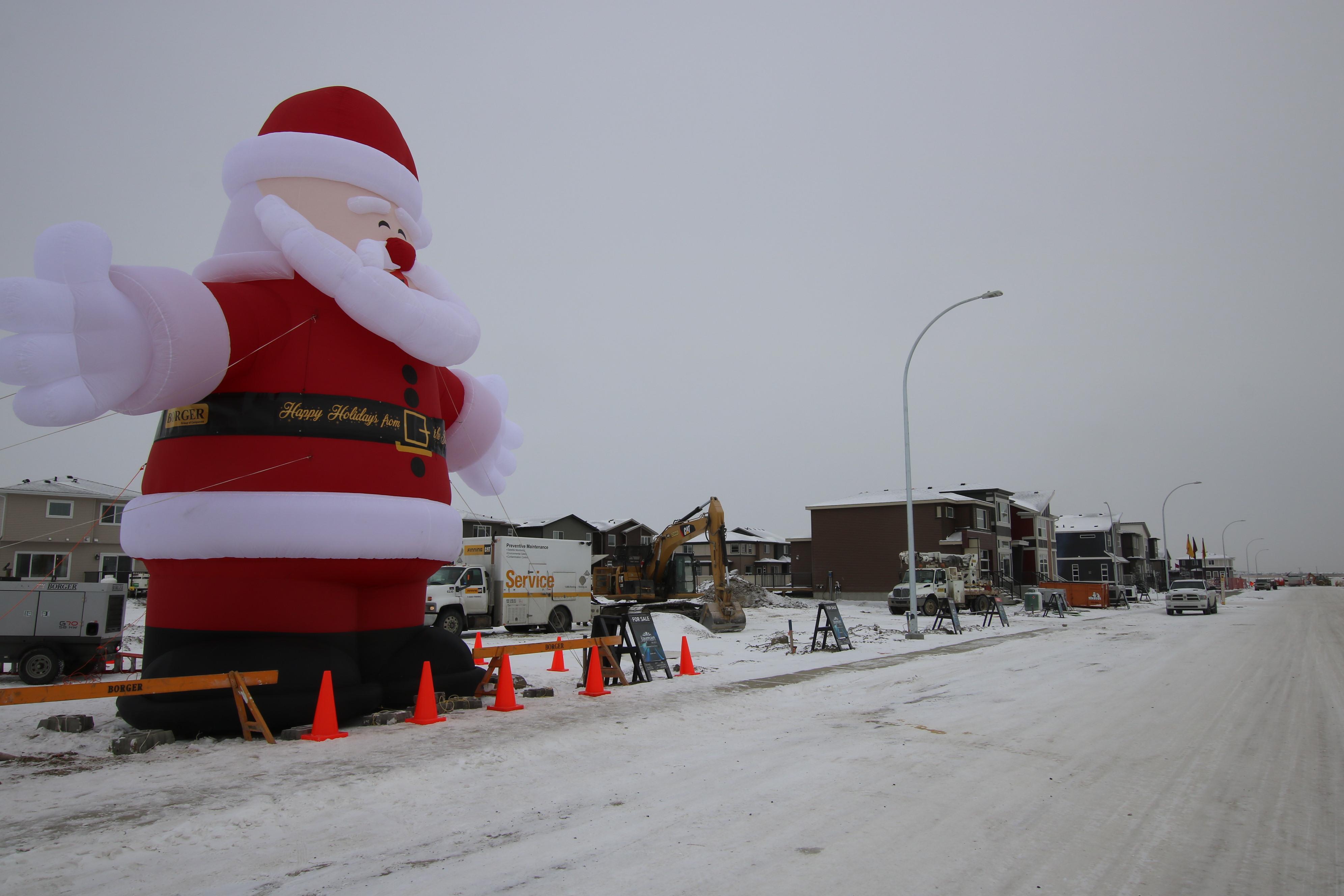 Cornerstone Calgary Santa 008